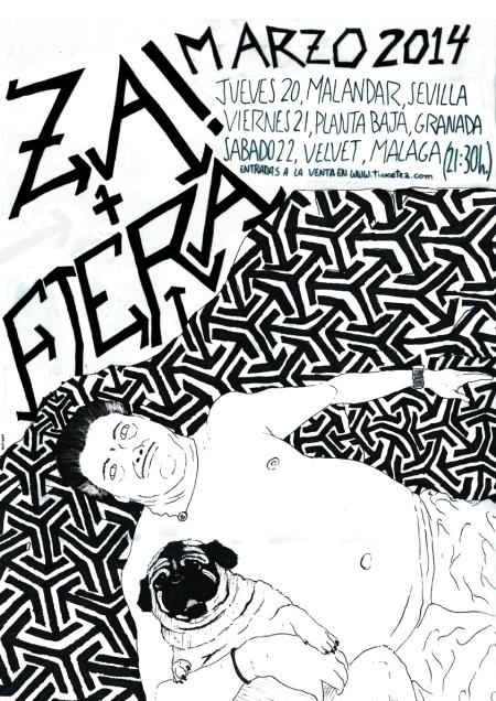 cartel gira Fiera + Za!